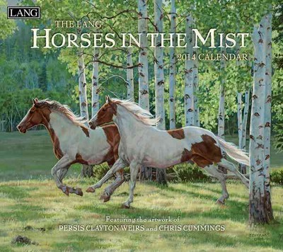 The Lang Horses in the Mist 2014 Calendar