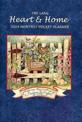 The Lang Heart & Home 2014 Monthly Pocket Planner