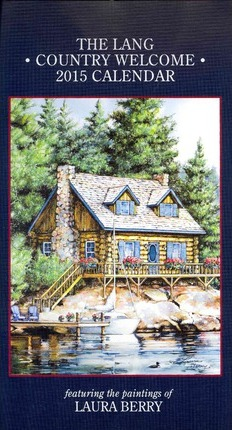 The Lang Country Welcome 2015 Vertical Calendar