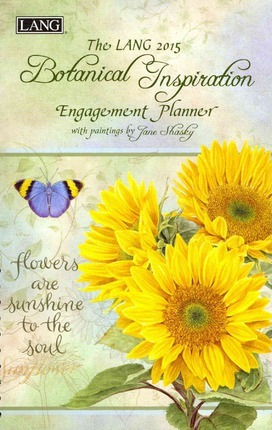 The Lang 2015 Botanical Inspiration Engagement Planner