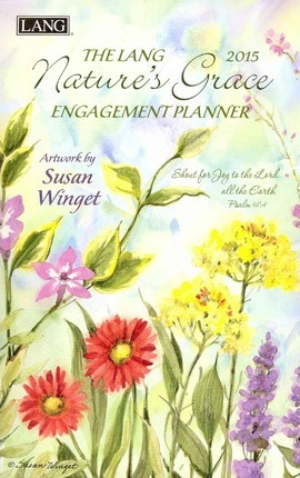 The Lang 2015 Nature's Grace Engagement Planner