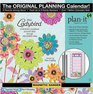 Ladybird Christian Plan-it 17 Month 2016 Calendar