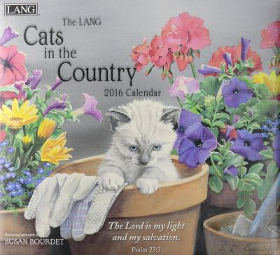 The Lang Cats in the Country Christian 2016 Calendar