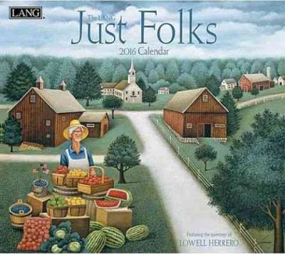 Just Folks 2016 Calendar
