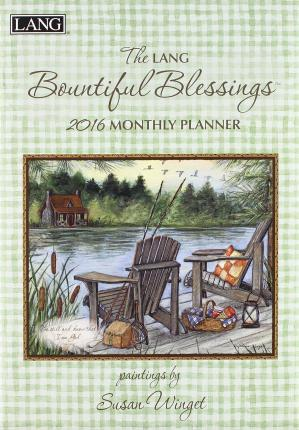 The Lang Bountiful Blessings 2016 Monthly Planner