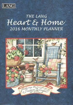 The Lang Heart & Home 2016 Monthly