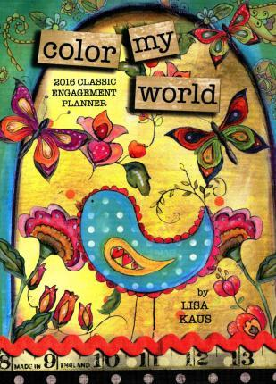 Color My World 2016 Classic Planner
