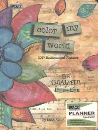 Color My World 2017 Classic Planner