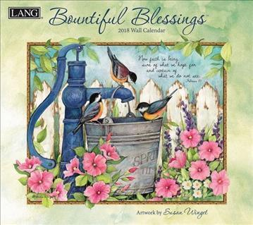 Bountiful Blessings 2018 Wall Calendar