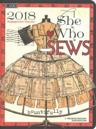 She Who Sews 2018 Classic Planner