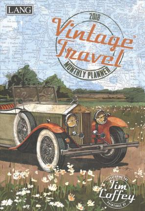 Vintage Travel 2018 Monthly Planner