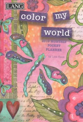 Color My World 2018 Monthly Pocket Planner
