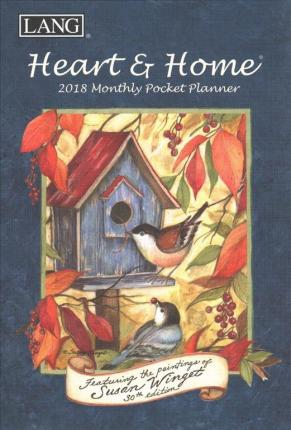 Heart & Home 2018 Monthly Pocket Planner