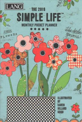 Simple Life 2018 Monthly Pocket Planner