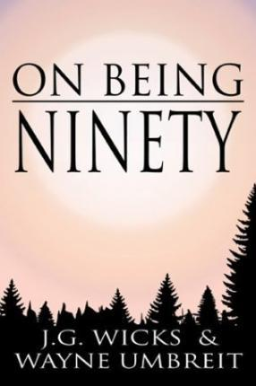 On Being Ninety