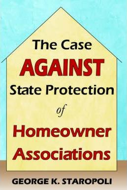 The Case Against State Protection of Homeowner Associations