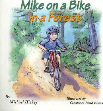 Mike on a Bike in a Forest