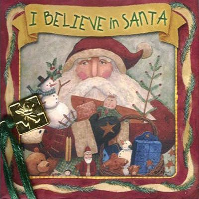I Believe in Santa Mini Book