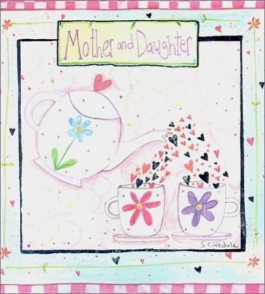 Deluxe Mother & Daughter Record Book