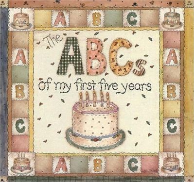 Delux Abcs of My First Five Years Record Book