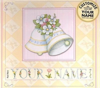 Personalised Wedding Record Book