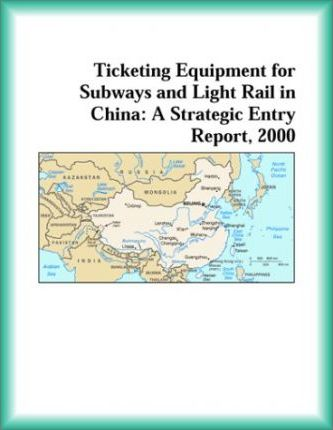 Ticketing Equipment for Subways and Light Rail in China