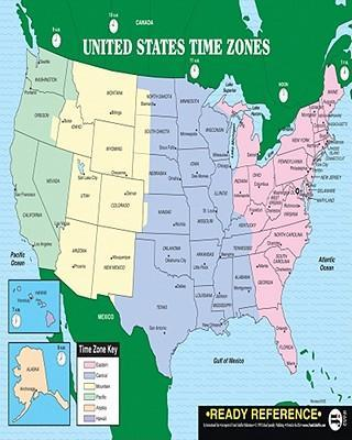 U.S. and World Maps with Time Zones : Instructional Fair ...