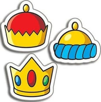 Crowns Little Chart Stickers