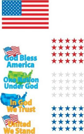 One Nation Bulletin Board Set