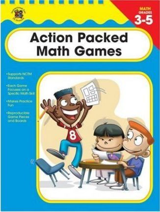 Action Packed Math Games, Grades 3-5