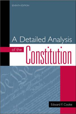 an analysis of australian constitution Interpretation of the constitution and of laws made under it and the extent of  sir  owen dixon, 'marshall and the australian constitution' (1955) 29 australian.