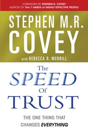 The Speed of Trust Cover Image