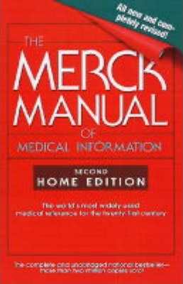 the merck manual of medical information home edition mark h rh bookdepository com Merck Manual Professional Website Merck Manual Author
