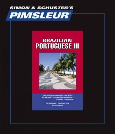 Level 4 CD Learn to Speak and Understand Brazilian Portuguese with Pimsleur Language Programs Pimsleur Portuguese Brazilian