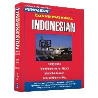 Pimsleur Indonesian Conversational Course - Level 1 Lessons 1-16 CD