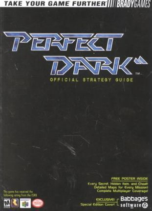 Perfect Dark Official Strategy Guide for Babbages