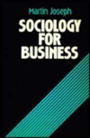 Sociology for Business