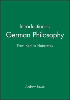 Introduction to German Philosophy