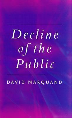 The Decline of the Public