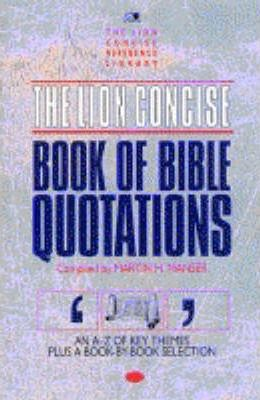 The Lion Concise Book of Bible Quotations