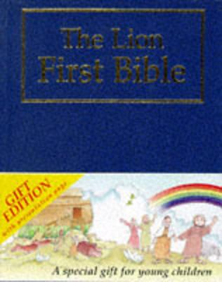 The Lion First Bible: Blue Gift Edition