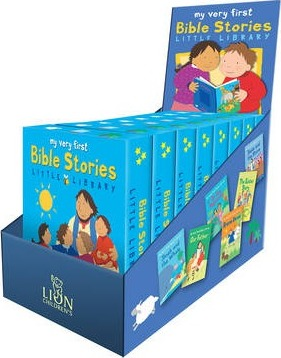 My Very First Bible Stories Little Library Counterpack Filled