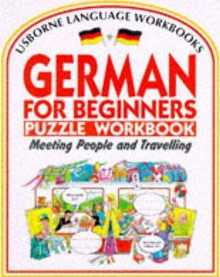 German for Beginners Puzzle Workbook