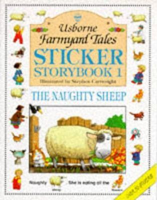 The Naughty Sheep Sticker Book