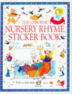 Usborne Nursery Rhyme Songbook: Sticker Book