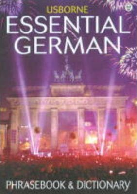 Essential German Phrasebook and Dictionary