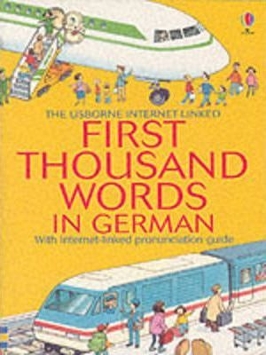 First 1000 Words: German