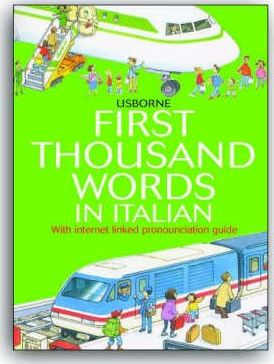 First 1000 Words: Italian