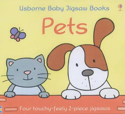Usborne First Jigsaw Books Pets