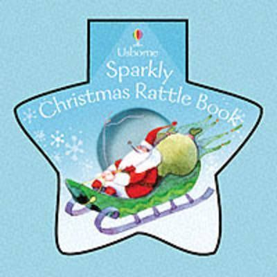 Sparkly Christmas Rattle Book